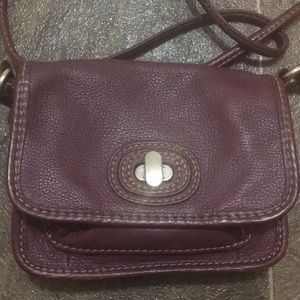 Fossil small hand bag with long strap